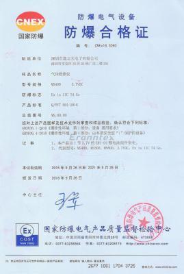 防爆合格zheng MS400气体检测yi图片