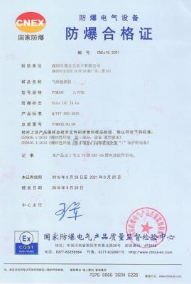 防爆合格zheng PTM600气体检测yi图片